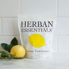 Lemon Towelettes - For when i finally do a crab feed!