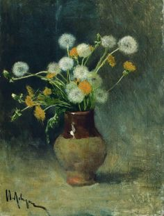 Dandelions, by Isaac Levitan (1889)