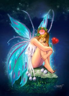 Crying fairy