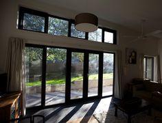 Living/Landscape doors. Cygnet Residence. Design & Build. (New House) 2011.