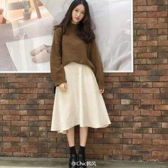 Chic韓風:| Chic Style | 元氣滿滿的嬌小少女可愛... - 微博精選 - 微博台灣站