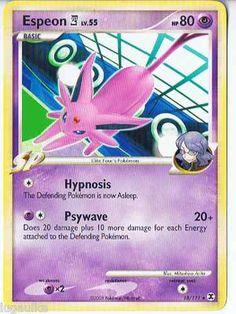 Pokemon Card Rising Rivals Non Holo Rare Espeon E4 18/111 FREE Combined Shipping