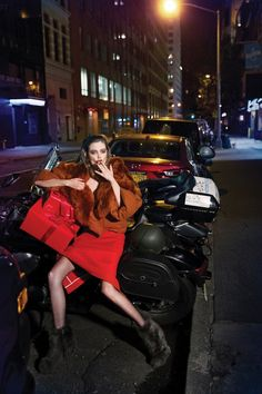 Lindsey Wixson wears fall style for Vogue Korea December 2015 by Junseob Yoon  [fashion]