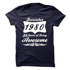 December 1980 - t shirt designs #Tshirt #fashion