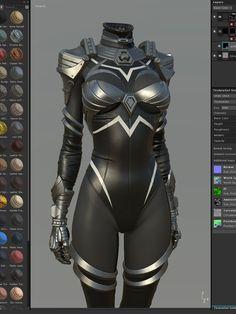 ArtStation - Metal Suit, Shin JeongHo