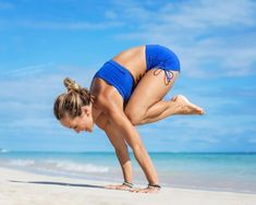 Bakasana. The crane pose. You might not believe it but I find...
