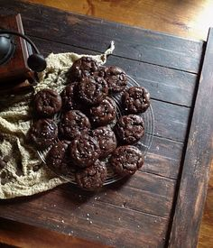 Orange & Dark Chocolate Olive Oil Cookies :: une gamine dans la cuisine