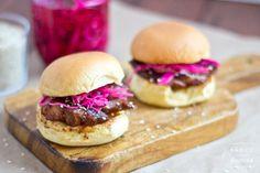 Hoisin Pork Belly Sliders | Saucy Spatula