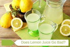 Does lemon juice go bad? The following guide details how long it is safe to use fresh or bottled lemon juice as well as the best storage methods.