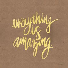 Everything is Amazing - Cat Coquillette