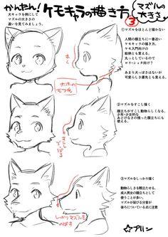 どのようにオオカミを描画する方法 - Google Search