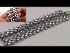 How to Make the Lizzie Honeycomb Bracelet - YouTube