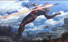 Diseño conceptual para Capitán América: Civil War
