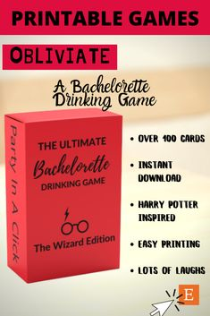 Fun Bachelorette Drinking Games- Harry Potter Inspired Bachelorette Drinking Games, Bachelorette Party Themes, Harry Potter Theme, Harry Potter Drinking Games, Harry Potter References, Different Games, Bridal Shower Party, Along The Way, Printables