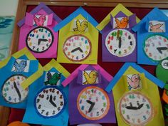 New Crafts, Crafts For Kids, Clock Craft, Preschool Crafts, Girl Scouts, Activities For Kids, Alphabet, Count, Projects To Try