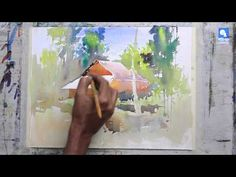 House in the Forest Watercolor Demo | Watercolors Painting