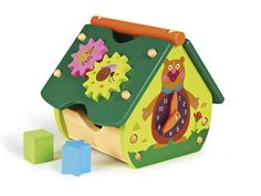 Oops Little Helper Woodland Wonderland Multi-Activity Wooden Toy House with Spinning Cogs/ Shape Sorter and Interactive Clock Baby Activity Toys, Infant Activities, Toy House, Baby Sensory, Happy House, Mamas And Papas, Nursery Furniture, Learning Centers, New Toys