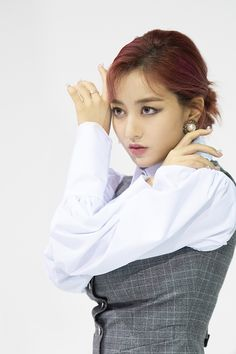 Jihyo Twice Eyes Wide Open Jacket Shooting