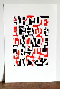 Typeverything.com  'ABCDEFGHIJKLMNOPQRSTUVWXYZ' by Cyrus Highsmith.