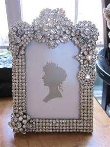 rhinestone picture frames