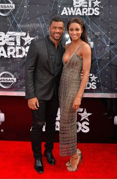 WM- BET Awards 2015- Russell Wilson and Ciara
