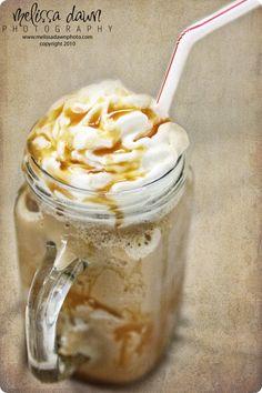 Homemade Caramel Frappuccino!!!