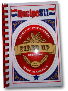 Hillsborough County Fire Rescue (HCFR) and Emergency Dispatch Center (EDC) pulled out all stops in a delightful yet touching cookbook, Recipes 911: Dishes by Dispatchers.