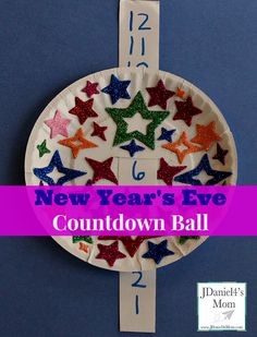 New Year's Eve Countdown Ball for Kids Can be used for counting up, counting down or adding!