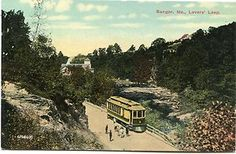 Lover's Leap - Trolley, Bangor, Maine