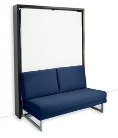 SPACE SOFA armoire lit escamotable 160cm canapé intégré | Armoires ...