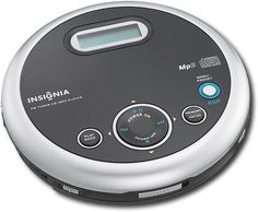 Insignia™ - Portable CD Player with FM Tuner and MP3 Playback - Black, NS-P5113