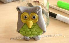 Des petits hiboux faciles à réaliser en pâte à modeler ou pâte à sel :) Easy Crafts For Kids, Projects For Kids, Diy For Kids, Book Crafts, Diy Crafts, Autumn Crafts, Salt Dough, Clay Art, Craft Gifts