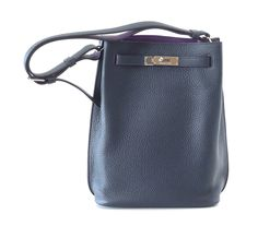 Hermes Kelly Bag 32cm Horseshoe Gris Perle / Tortourelle Bi-color ...