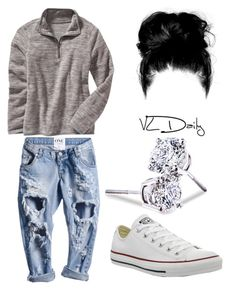 """""""Fall is coming ❤️"""" by brejeasmith on Polyvore featuring Old Navy, Converse and Lord & Taylor"""