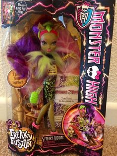 Monster High Freakie Fusion Clawvenus NEW Just Released IN HAND