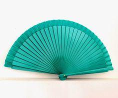 Handfächer - Handfächer,Fächer,grün,spanischer Fächer - ein Designerstück von Faecher-Sprache bei DaWanda