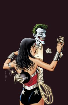 Brian Bolland - Wonder Woman vs Joker