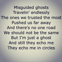 Misguided Ghosts- Paramore