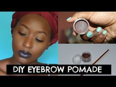 DIY: HOW TO MAKE YOUR OWN EYEBROW POMADE!!! - YouTube Make Your Own, Make Up, Make It Yourself, No Experience Jobs, Eyebrows, Youtube, Hair, Maquillaje, Eye Brows