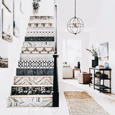 Step up your decorating game with stylish staircases