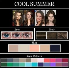 hair colors for summer skin tone - Google Search