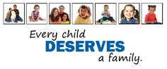 May is National Foster Care Awareness Month - help make sure that every child has a stable and loving home!