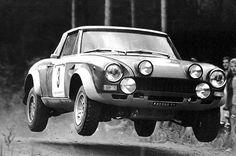 Rally passion(100): Fiat 124 Spider 1974 Tour de Corse #rally #rallye #rallys #racing #motorsport #wrc #fiat124spider #fiat #tourdecorse  Send me stuff: Zagonel Manolo Via val di Roda 1  38054 San Martino di Castrozza (TN) IT