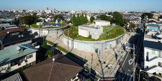 New work by Jun Aoki in Tokyo, Japan  #architecture #architect #JunAoki #Tokyo #Japan #design #interiordesign #building   More on http://novozhilovam.weebly.com/blog-hidden/116-dynamic-public-space-the-omiyamae-gymnasium-by-jun-aoki