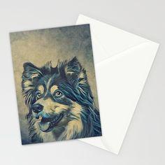 Shetland Sheepdog Painting Stationery Cards by nirvanatw Addressing Envelopes, Shetland Sheepdog, Address Labels, Stationery, Cards, Painting, Animals, Papercraft, Animales