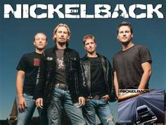 Nickelback-- my favorite band to see in concert and the most likely to fix what ails me while driving alone in my car.