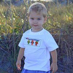 cd489fcef 4/11/2013 Boys Fishing Lures Smocked T-Shirt Fishing Lures, Smocking