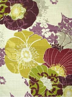 I WANT this fabric - HAVE to come up with something to use it for