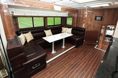 Welcome to Sovereign Horseboxes. Designers and Manufacturers of quality, bespoke, luxury horseboxes and trucks. Horse Transport, Diy Rv, Truck Interior, Horse Trailers, Rv Camping, Vroom Vroom, Emperor, Interior Inspiration, Bespoke