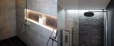 Bath and bask in a decant glow with the top 50 best shower lighting ideas. Explore unique illumination designs for your master bathroom. Bathroom Lighting Inspiration, Lighting Ideas, Attic Bathroom, Master Bathroom, Bathroom Ideas, Bathroom Design Luxury, Home Interior Design, Pool House Designs, Shower Lighting